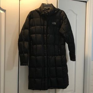 Women's The North Face Hooded Black Parka